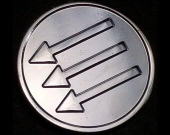 AntiFA Arrows Lapel Pin