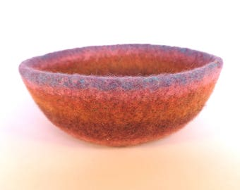 Meadow Felted Bowl