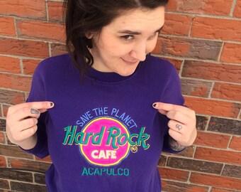 Vintage Hard Rock Cafe Crewneck Sweatshirt