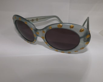 Emmanuelle Khanh lunettes, sunglasses sunglasses vintage anni 80 never used good condition! brille