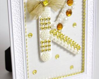 Personalised Letter, Custom Letter, Custom Nursery Art, Alphabet Frame, Letter in a Frame