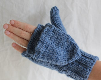 Mittens with flaps Etsy