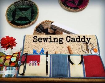 Sewing Machine Caddy / Sewing Organizer / Sewing Machine Mat / Sewing Machine Cover / Quilting Caddy / Sewing Caddy / Craft Caddy