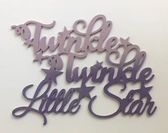 Twinkle Twinkle Little Star Wall Decor