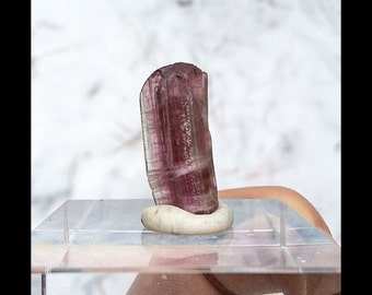 Beautifully  terminated Rubelite Tourmaline 15.3 cts (#5)