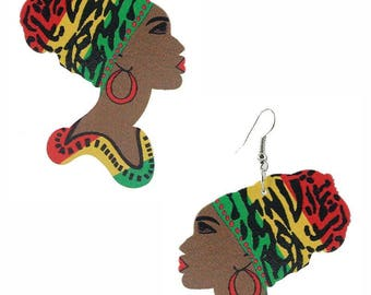 Turban Earrings