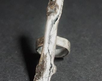 Silver Pod Ring