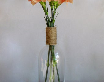 Decorative Glass Bottle / Vase