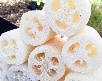 Natural Loofah Luffa Bath Body Shower Sponge Scrubber Exfoliate