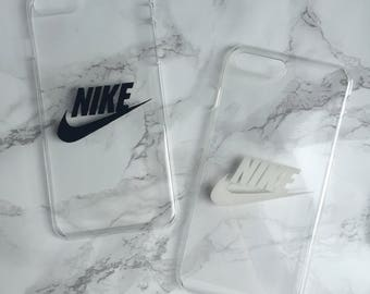 Unique Nike logo transparent | clear phone cover | case for iPhone and Samsung Galaxy
