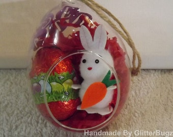 Easter Glass Bauble