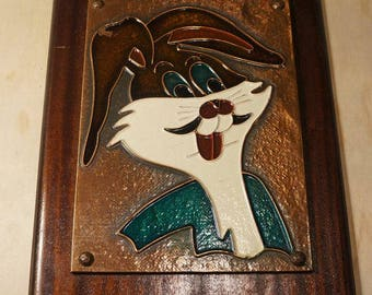 Bugs Bunny COPPER ART Wall Hanging Looney Tunes