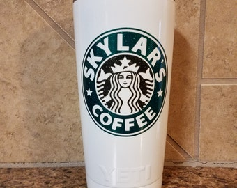 Starbucks  Coffee Inspired ,RTIC,Ozark,Custom Tumbler, Custom, Powder Coated Coffee