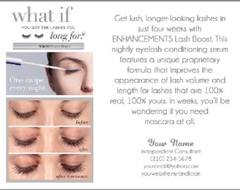 HIGH RESOLUTION Lash Boost Information Card