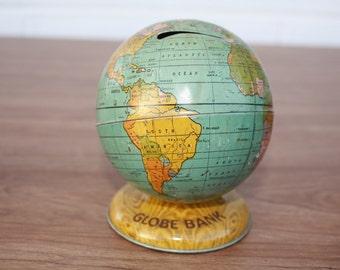 Vintage J Chein Globe Bank