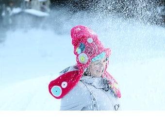 PINK winter hat women original