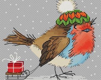 "Cross stitch pattern ""Bird"""