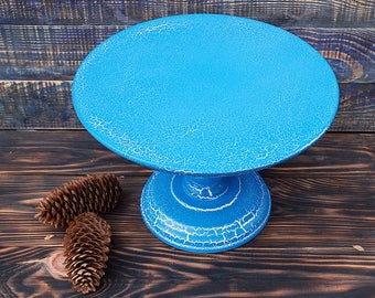 "12"" inches cake stand,wedding white cake stand,wedding cake pedestal,blue cake pedestal,strong cake stand,stable cake pedestal,stable stand"
