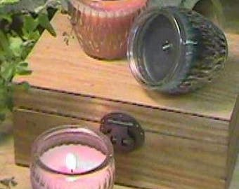 Purple Patchouli Candle – Patchouly Candle - Money Candle