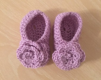 Baby rose shoes
