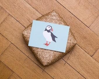 Postcard / Puffin