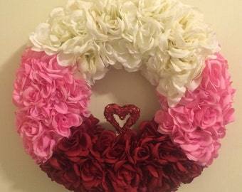 Rose of my Heart wreath
