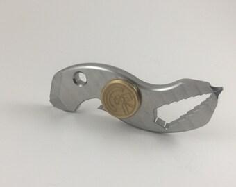 Stainless Spin-Tool, Multi-Spin, Fidget Toy, Hand Spinner, EDC Spinner, FidgetSpinner