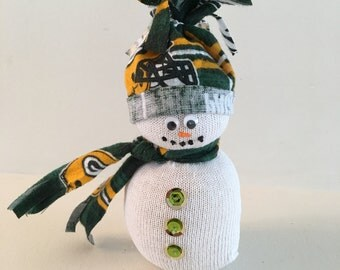 Green Bay Packers Fans Guy And Gal Holiday Decorations