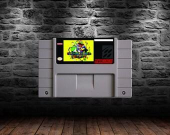 Super Mario Return to Dinosaur Land - Experienced Dinosaur Plumbing Platforming Action - SNES