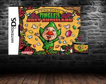 Freshly-Picked Tingle's Rosy Rupeeland - The Tingle Adventure Nobody asked for - DS - English Translation - Region Free