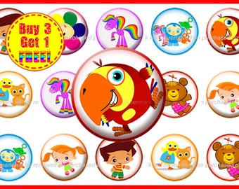 Baby First Bottle Cap Images - Bottle Cap Images - Instant Download - High Resolution Images - Buy 3, Get 1 FREE
