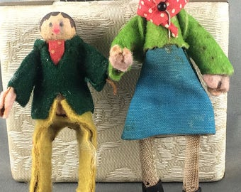 Antique Vintage Clothespin Clothespeg Dolls