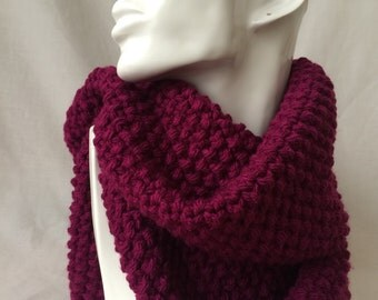 Brandy Winter Hand Knitted Scarf