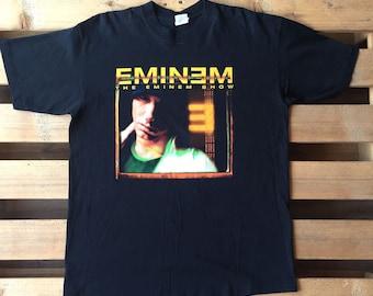 1990s Eminem t-shirt, vintage, vtg, tee, retro, the eminem show, 90s, rap, music, hip hop, slim shady, 8 mile, EMINƎM, rapper, actor