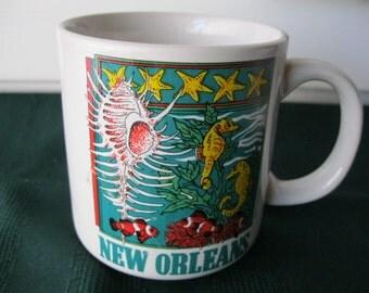New Orleans Mug, Louisiana Mug, New Orleans Souvenir