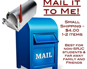 Small Shipping - Non-SRJC Students