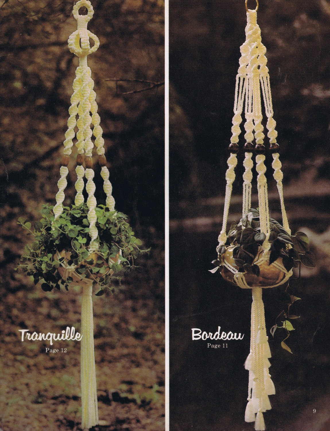 Uncategorized Macrame Patterns Plant Hanger 2 macrame pdf plant hanger patterns pattern book digital download this is a file