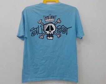 Rare!! Stussy T-shirt L size nice design