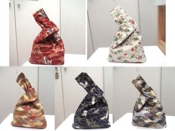 Wrist bag, Handbags,Wrist-lets, Clutch Bags, Small Carry Bags,  Gift Bags,Japanese style