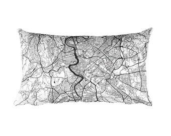 Rome Pillow, Rome Decor, Rome Throw Pillow, Rome Gift, Rome Cushion, Rome Map, Rome Art, Rome Italy, Roma Home, Roma Map Pillow, Rome Italia