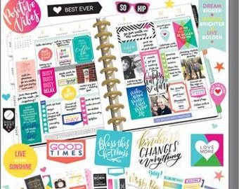 Quotes Sticker Value Pack - MAMBI Happy Planner Stickers 427 Stickers