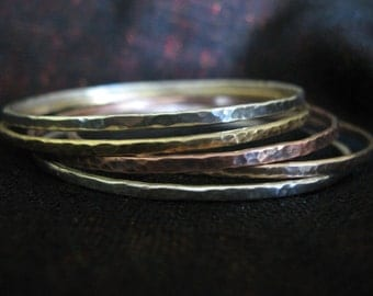 Metal Bangles (SILVER NOT INCLUDED)