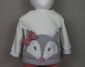 "sweet Sweatshirt ""Miss Fox"""