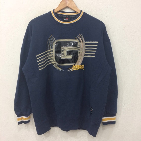 Rare!! Vintage I LOVE HIP HOP sweatshirt Big Logo Medium Size