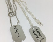 Daddy and princess set necklace set ddlg gift DDLG set ddlg acsessory Daddy Dom DDLB BDSM ddlg relationship ageplay princess stuff