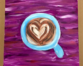 Coffee Love Painting Custom Made-to-order