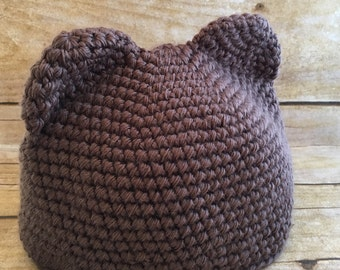 Infant Teddy Bear Hat