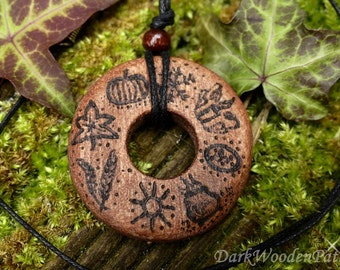 Magical necklace ~ wheel of the year ~