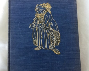 """Vintage 1940 """"The Wind in the Willows"""" book"""