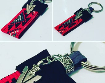 Men's Native American Inspired Keychain